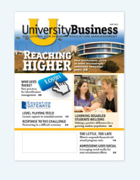 University Business magazine cover